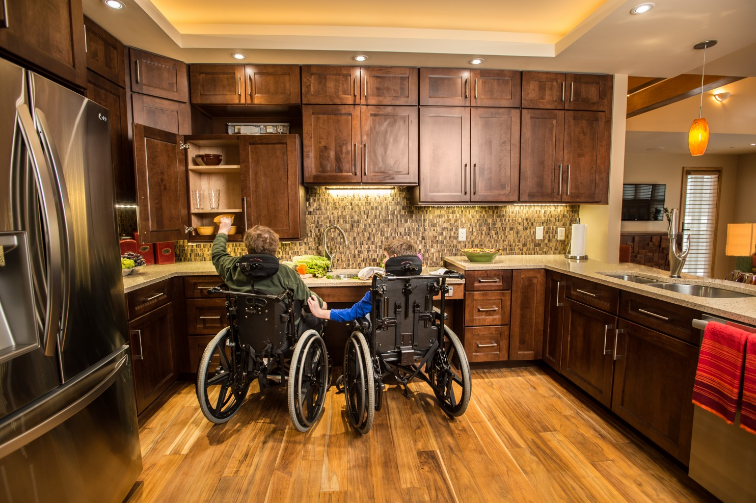 How to retrofit your home for accessibility design for for Wheelchair accessible housing